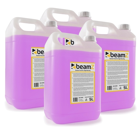 4-pack BeamZ Smokefluid 5L Hight-Quality Pink