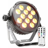 Beamz BT300 LED Flat PAR 12x10W 6-1 HEX DMX IRC