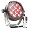 Beamz BT310 LED Flat PAR 12x6W 4-1 RGBA DMX IRC