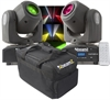 2-PACK BeamZ Panther 40 Led Spot Moving Head IRC